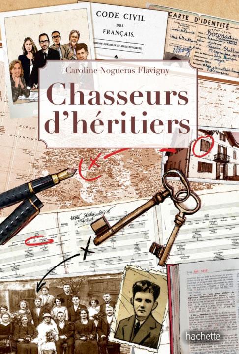 A paraître : Chasseurs d'héritiers de Caroline Nogueras Flavigny